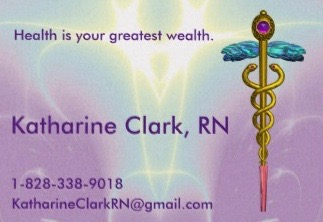my purple biz card